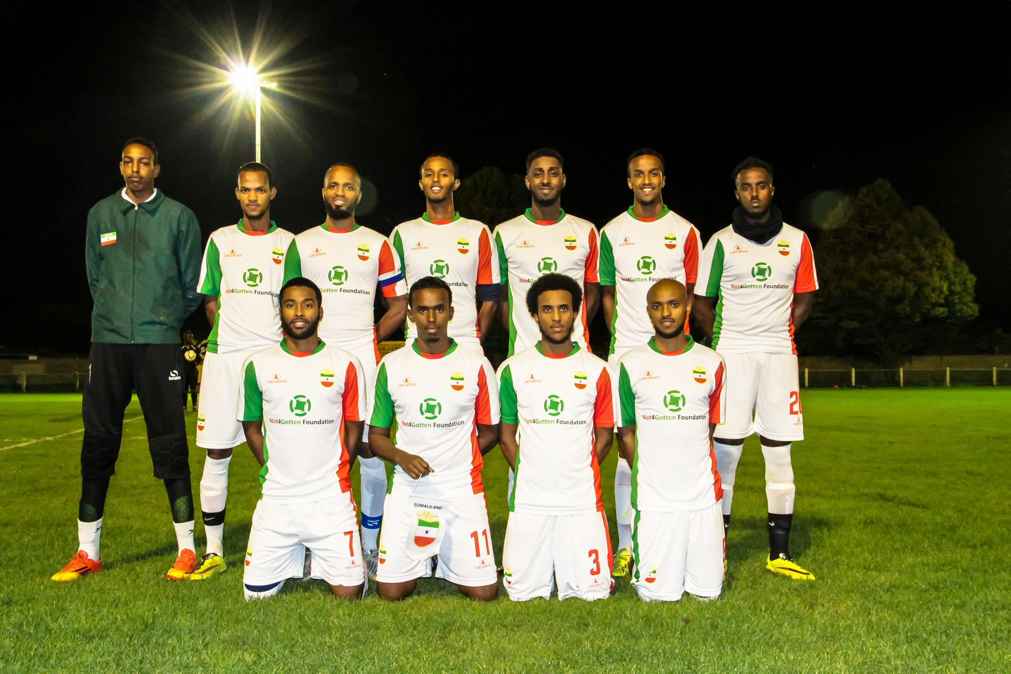 Image result for CONIFA Somaliland Football team