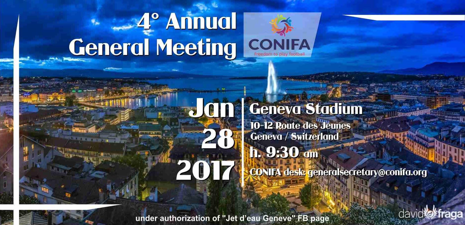 CONIFA AGM 2017