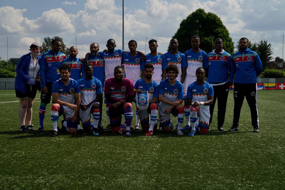 Barawa v Ellan Vannin - CONIFA World Football Cup 2018
